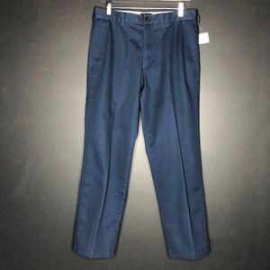 Lands' End Navy Tailored Fit Chino Pant - Size 31